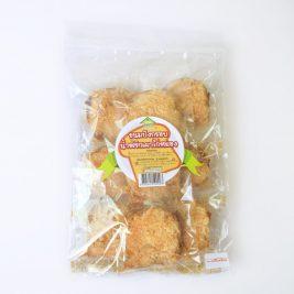 ขนมปังกรอบน้ำพริกเผาไก่หยอง1